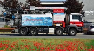 Čiščenje odtokov in cevi - Saubermacher Slovenija